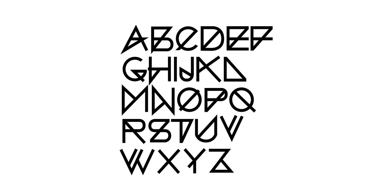 Alphabet-Blazer-Font