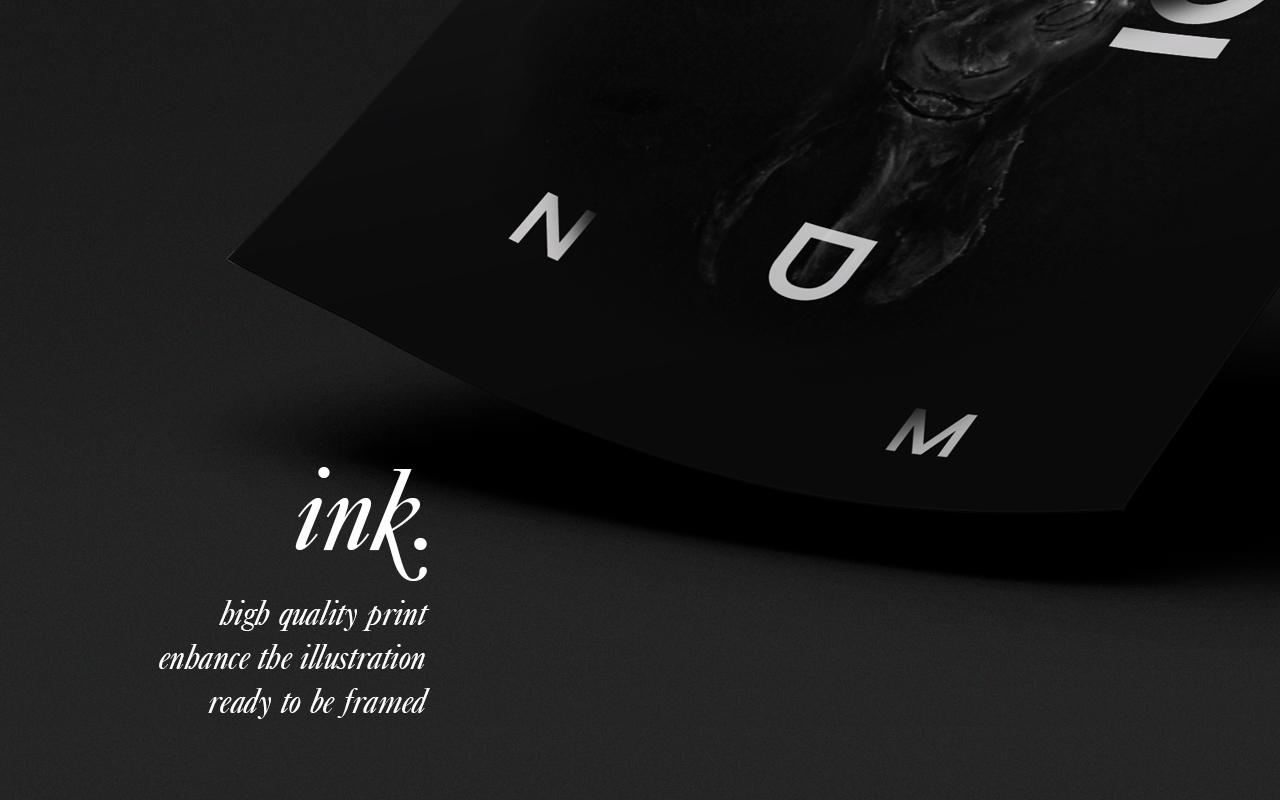 Ink Wax Illustration